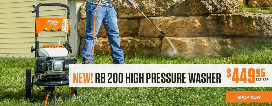 RB 200 High Pressure Washer